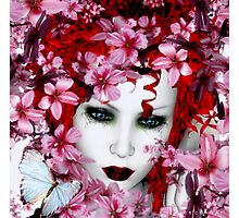 Madame Butterfly Photographic Print