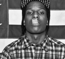 Asap rocky Sticker