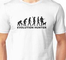 Evolution Hunter Unisex T-Shirt