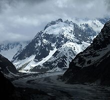 Mer de Glace Mont Blanc Massif   by ljm000