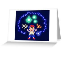 Ness PK Greeting Card