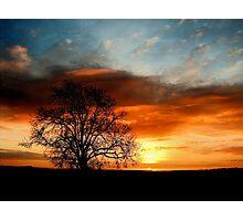 """Summer Sunrise Sky"" Photographic Print"