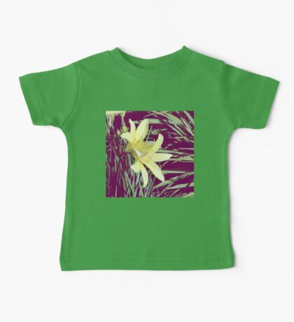 Lilies in Yellow Baby Tee