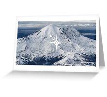 Northwest Rainier Greeting Card