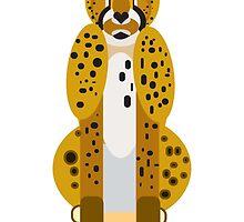 Digital Leopard Illustration by FUNCTIONALFOX