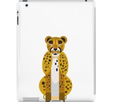 Digital Leopard Illustration iPad Case/Skin