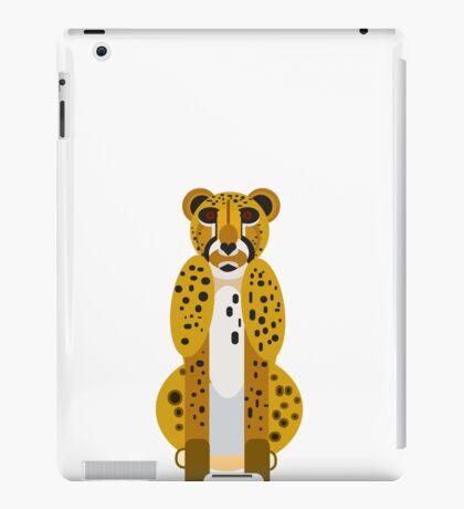 Digital Leopard Illustration iPad Case/Skin