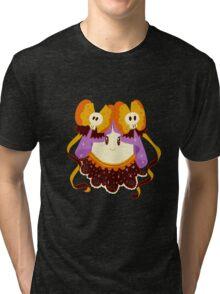 Cute Frilly Ghost Tri-blend T-Shirt