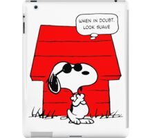 Snoopy Cool iPad Case/Skin