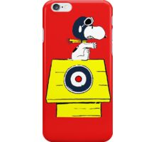 Snoopy vs Red Baron iPhone Case/Skin