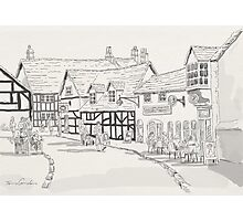 AFTERNOON TEA AT STRATFORD UPON AVON Photographic Print