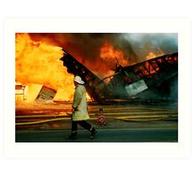 """The Burning"" Art Print"
