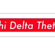 Phi Delta Theta Supreme Sticker