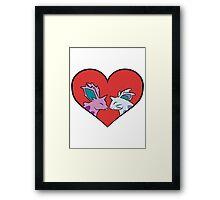 Nido-love! Framed Print
