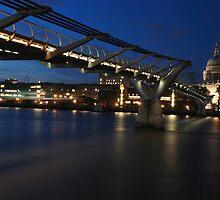 millenium bridge by jon  daly
