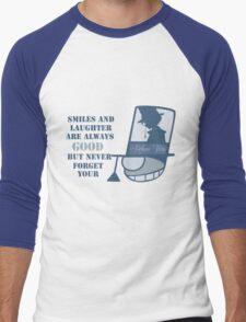 Never forget you poker face Men's Baseball ¾ T-Shirt