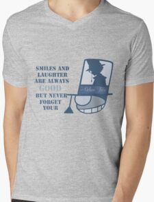 Never forget you poker face Mens V-Neck T-Shirt