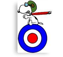 Aviator Snoopy Canvas Print