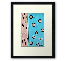 Unit 2 by Margo Humphries Framed Print