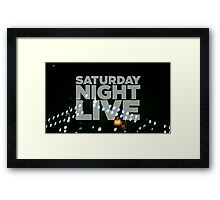 Saturday Night Live Shirt Framed Print