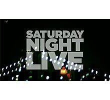 Saturday Night Live Shirt Photographic Print