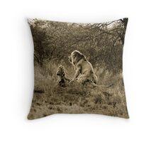 Jungle Love Throw Pillow