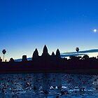 Angkor Wat on Sunrise by Carlton Grooms