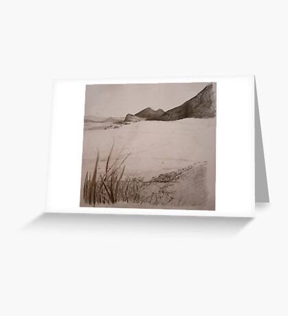 Valencia Island Greeting Card