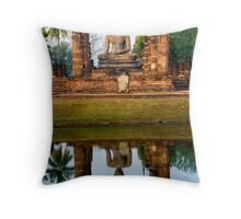 The Ancient City of Sukhothai Throw Pillow