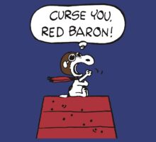 Red Baron Snoopy by Patritius