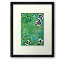 Ground Cover by Margo Humphries Framed Print