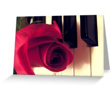 The Music Rose Greeting Card
