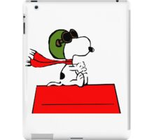 Snoopy aviator iPad Case/Skin