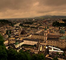 Old Town of Salzburg, Austria by Suraj Mathew