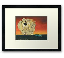 Journey to the Imps Feral Utopia Framed Print