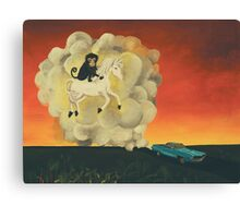 Journey to the Imps Feral Utopia Canvas Print