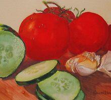 Fresh Veggies by Karen Ilari