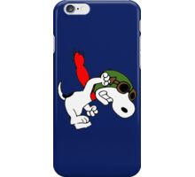 Snoopy versus Red Baron iPhone Case/Skin