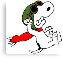 Snoopy versus Red Baron Canvas Print