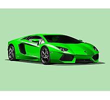Realistic Lamborghini Photographic Print