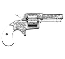 Antique and Vintage Revolver Gun by digitaleclectic