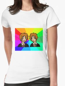 Harry Potter | Weasley Twins Womens Fitted T-Shirt