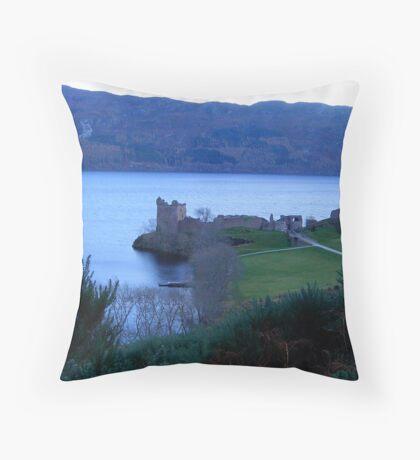 Nessie's Castle  Throw Pillow