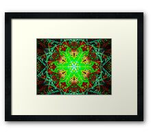 Sublime Hexagonality  (UF0137) Framed Print