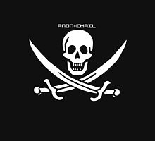 Pirate Flag - Anon-Email Unisex T-Shirt