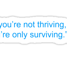 Happiness Quote Sticker