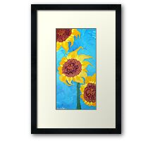 Sunflowers IV Framed Print