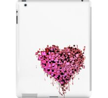 Graffiti Heart Red iPad Case/Skin