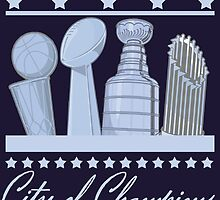Boston - City of Champions (Silver) by Deezer509