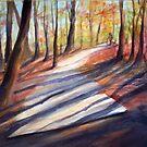 An Autumn Stroll by bevmorgan